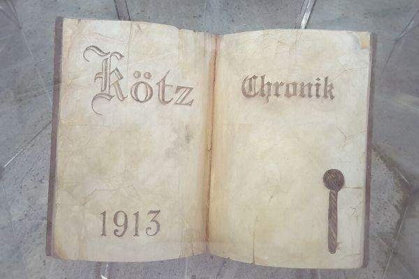 Über Uns Seite - Koetz & Koetz GmbH Buch Geschichte