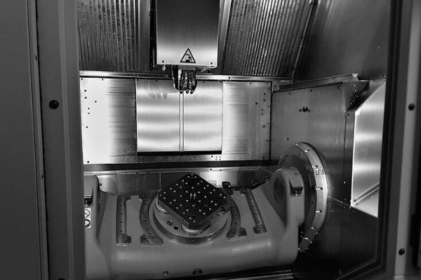 Maschine Hermle von Inne